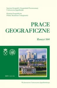Prace Geograficzne, 2021/3, Zeszyt 164
