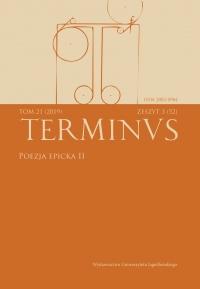 Terminus, 2019/10, Tom 21, zeszyt 3 (52)