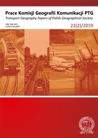Prace Komisji Geografii Komunikacji PTG , 2019/6, 22 (2)