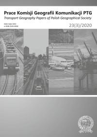Prace Komisji Geografii Komunikacji PTG , 2020/7, 23 (3)