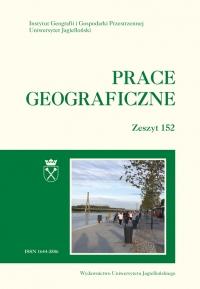 Prace Geograficzne, 2018/3, Zeszyt 152