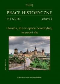 Prace Historyczne, 2016/6, Numer 143 (2)