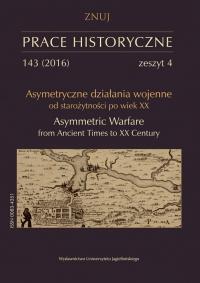 Prace Historyczne, 2016/10, Numer 143 (4)