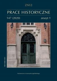 Prace Historyczne, 2020/4, Numer 147 (1)