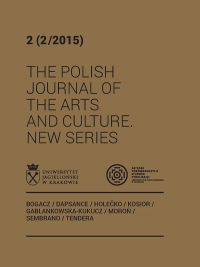 The Polish Journal of the Arts and Culture. New Series, 2015/8, 2 (2/2015)