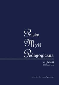 Polska Myśl Pedagogiczna, 2018/4, Numer 4