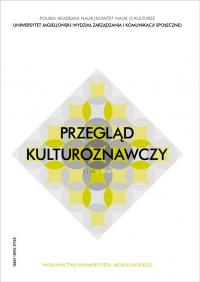 Przegląd Kulturoznawczy, 2018/3, Numer 1 (35)