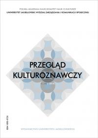 Przegląd Kulturoznawczy, 2018/10, Numer 2 (36)