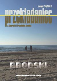 Przekładaniec, 2015/1, Numer 30 - Brodski
