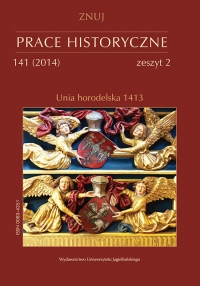 Prace Historyczne, 2014/9, Numer 141 (2)