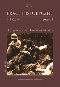 Prace Historyczne, 2014/12, Numer 141 (4)
