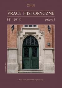 Prace Historyczne, 2014/8, Numer 141 (1)