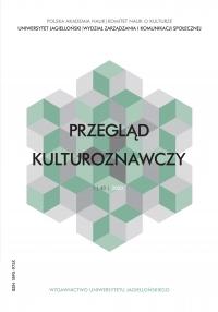 Przegląd Kulturoznawczy, 2020/3, Numer 1 (43)