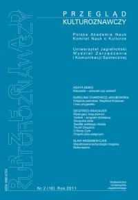 Przegląd Kulturoznawczy, 2012/6, Numer 2 (10)