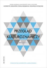 Przegląd Kulturoznawczy, 2014/12, Numer 4 (22)