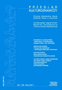 Przegląd Kulturoznawczy, 2011/12, Numer 1 (9)