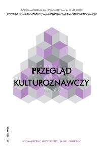 Przegląd Kulturoznawczy, 2017/10, Numer 2 (32)
