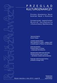 Przegląd Kulturoznawczy, 2013/2, Numer 4 (14)