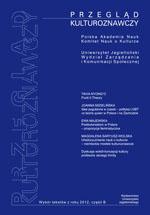 Przegląd Kulturoznawczy, 2013/1, Numer 3 (13)
