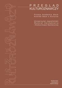 Przegląd Kulturoznawczy, 2013/10, Numer 3 (17)