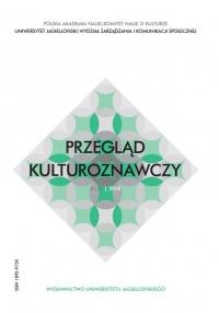 Przegląd Kulturoznawczy, 2018/11, Numer 3 (37)
