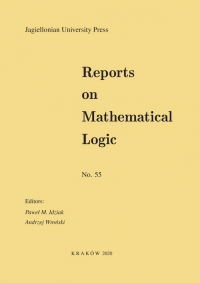 Reports on Mathematical Logic, 2020/8, Number 55