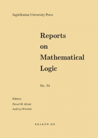 Reports on Mathematical Logic, 2019/8, Number 54