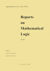 Reports on Mathematical Logic, 2014/9, Number 49