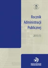 Rocznik Administracji Publicznej, 2015/1, 2015 (1)