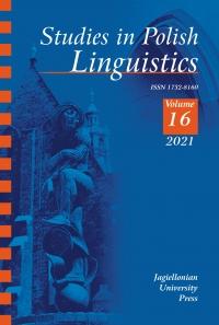 Studies in Polish Linguistics