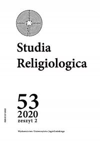 Studia Religiologica, 2020/8, Tom 53, Numer 2