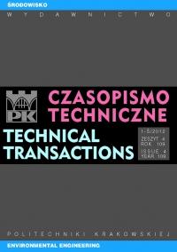 Czasopismo Techniczne, 2012/2, Środowisko Zeszyt 1-Ś (4) 2012