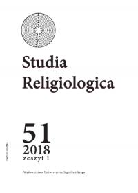 Studia Religiologica, 2018/9, Tom 51, Numer 1
