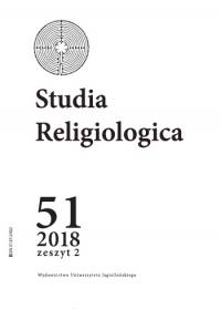 Studia Religiologica, 2018/10, Tom 51, Numer 2