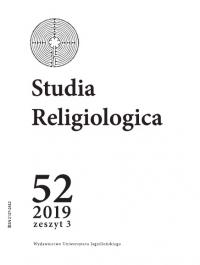Studia Religiologica, 2019/11, Tom 52, Numer 3
