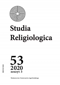Studia Religiologica, 2020/10, Tom 53, Numer 3