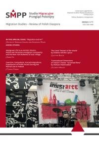 Studia Migracyjne – Przegląd Polonijny, 2020/10, Nr 3 (177)