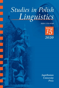 Studies in Polish Linguistics, 2020/12, Issue 4