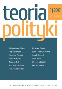 Teoria Polityki, 2017/5, Nr 1/2017
