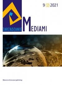 Zarządzanie Mediami, 2021/6, Tom 9, Numer 2