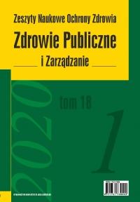 Zdrowie Publiczne i Zarządzanie, 2020/5, Tom 18, Numer 1
