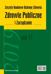 Zdrowie Publiczne i Zarządzanie, 2019/5, Tom 17, Numer 1