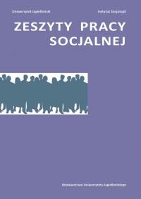 Zeszyty Pracy Socjalnej, 2020/3, Tom 25, Numer 1