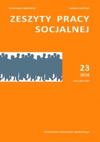 Zeszyty Pracy Socjalnej, 2018/3, Tom 23, numer 1
