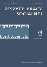 Zeszyty Pracy Socjalnej, 2019/3, Tom 24, numer 1
