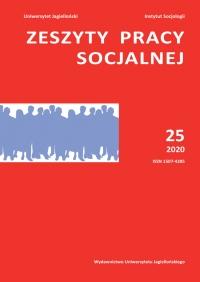 Zeszyty Pracy Socjalnej, 2020/10, Tom 25, Numer 3