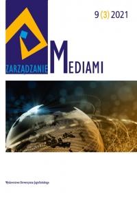 Zarządzanie Mediami, 2021/9, Tom 9, Numer 3