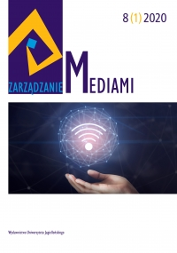 Zarządzanie Mediami, 2019/12, Tom 8, Numer 1