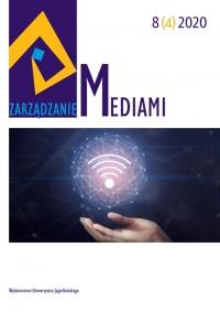 Zarządzanie Mediami, 2021/1, Tom 9, Numer 1