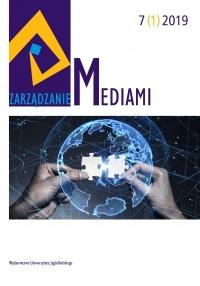 Zarządzanie Mediami, 2019/6, Tom 7, Numer 1